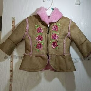NANETTE INFANT  GIRLS SIZE 12 MOS JACKET